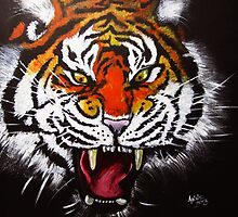 Tiger's Temper by Anne Thigpen