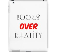 Books over Reality iPad Case/Skin
