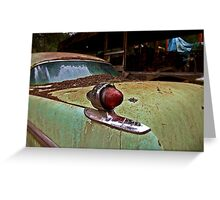 Chrysler Imperial tail light Greeting Card