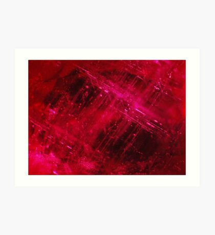 Composite ruby Art Print