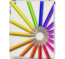 colorful Crayons iPad Case iPad Case/Skin