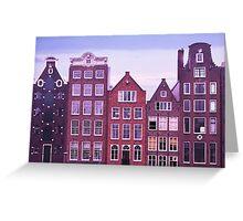 Amsterdam 4 Greeting Card