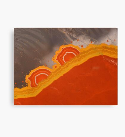 Sunrize quartz Canvas Print