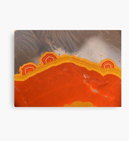 Sunrise quartz Canvas Print