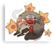 Little Ferret Canvas Print