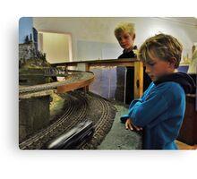 Boys and their toys Canvas Print