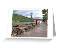The Promenade Boppard. Greeting Card