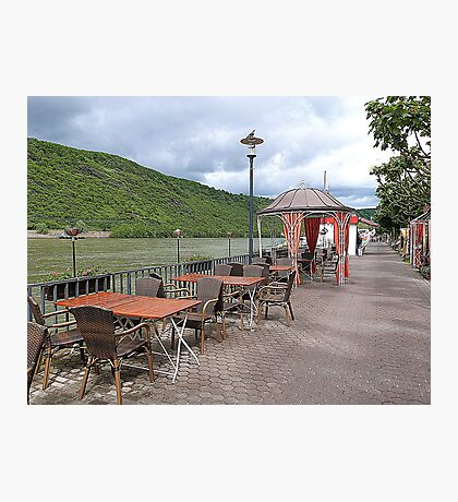 The Promenade Boppard. Photographic Print
