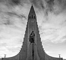 The Hallgrímskirkja by eddiechui