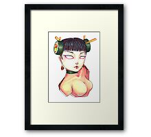 Eat More Sushi Framed Print