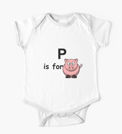 P is for ...V3 One Piece - Short Sleeve