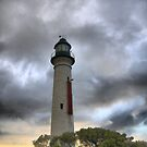 The Point Lonsdale Light  by Larry Lingard-Davis