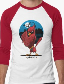 Fredbird the Dark Knight Men's Baseball ¾ T-Shirt