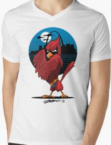Fredbird the Dark Knight Mens V-Neck T-Shirt
