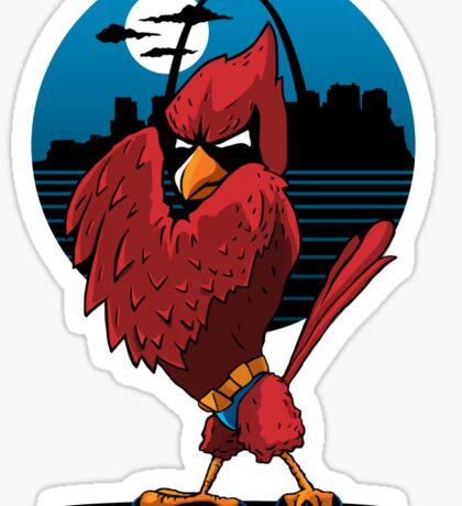 Fredbird the Dark Knight Sticker