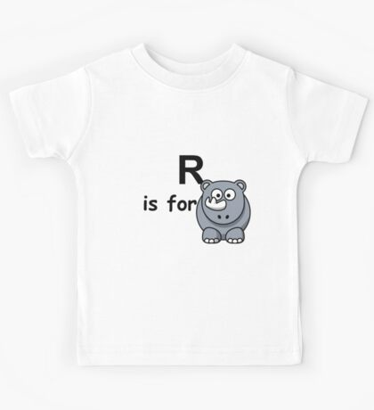 R is for ...V2 Kids Tee