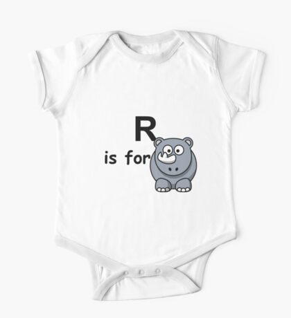 R is for ...V2 One Piece - Short Sleeve