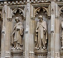 Stonework of old England by Kent Burton