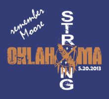 Remember Moore - Oklahoma Strong Recovery Tee by Max Effort