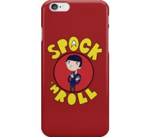 Spock 'N Roll iPhone Case/Skin