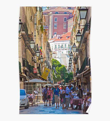 rua dos correeiros. Lisboa Poster