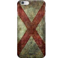 Alabama state flag iPhone Case/Skin