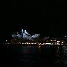 Striped Opera House by Alfredo Estrella