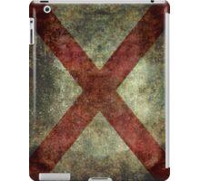 Alabama state flag iPad Case/Skin
