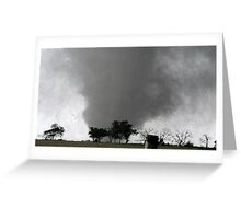 Deadly Destruction Greeting Card