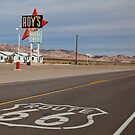 Roy's Amboy on Route 66 by matthewbam