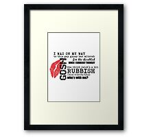 River Song - Gypsy Bar Mitzvah Framed Print