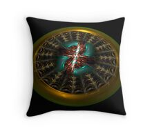 Julian's Web Throw Pillow