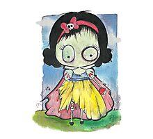 Zombie Snow White Photographic Print