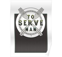 To Serve Man Poster