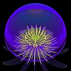 Lighted Globe by Sandy Keeton