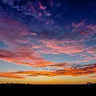 Coober Pedy Sunrise by Russell Charters