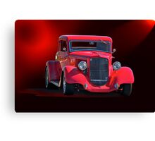 Operating in the Red  - 1934 Plymouth Coupe Canvas Print