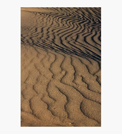 Texture of Sleeping Bear Dunes Photographic Print