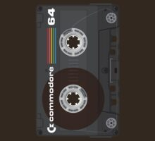 Commodore 64 Cassette Tape by squidgun