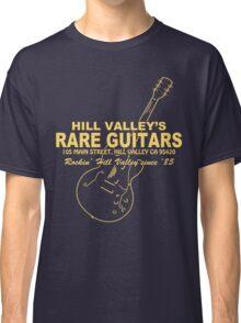 Hill Valley Rare Guitars - Rockin' Since '85 Gibby Classic T-Shirt
