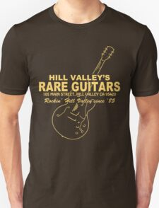 Hill Valley Rare Guitars - Rockin' Since '85 Gibby T-Shirt