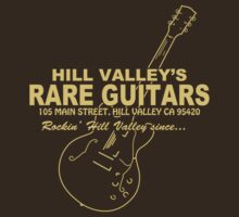 Hill Valley Rare Guitars - Rockin' Since... Gibby by OnionSkin