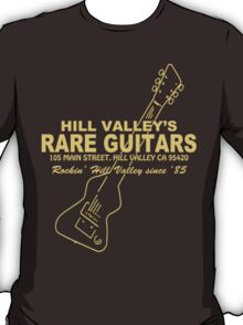 Hill Valley Rare Guitars - Rockin' Since '85 Chick T-Shirt