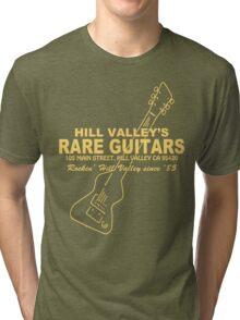 Hill Valley Rare Guitars - Rockin' Since '85 Chick Tri-blend T-Shirt