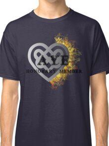 Fiery heart AYE shirt Classic T-Shirt