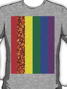 Coffee Rainbow T-Shirt
