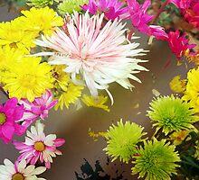 Tumbling flowers by ♥⊱ B. Randi Bailey