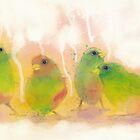 Sparrows by Catherine Gabriel
