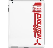 Evo 8 iPad Case/Skin