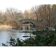 central park, ny Photographic Print